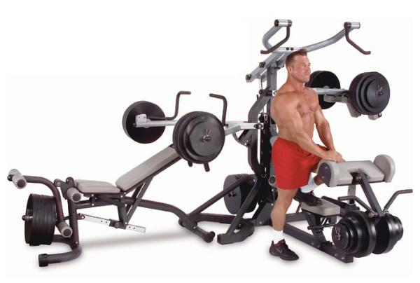 Body Solid Multigym - Leverage Freeweight Gym