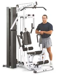 Bodysolid EXM 2000S - extremely compact design.