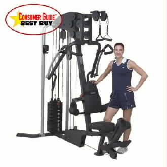 Body Solid Multigym G4i + FREE weight stack upgrade to 210lb